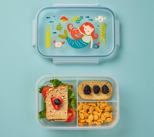 Brotdose für die Schule - Kinder Brotbüchse mehrere Fächer