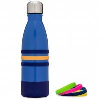 Yumbox AQUA - Edelstahl Trinkflasche, 420 ml