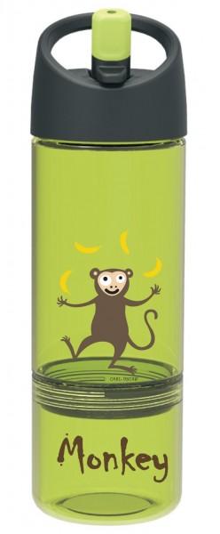 Carl Oscar - Kinder Trinkflasche Snackflasche - grün