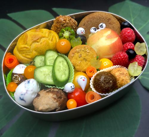 Bento Box Brotdosen Ideen zu Halloween