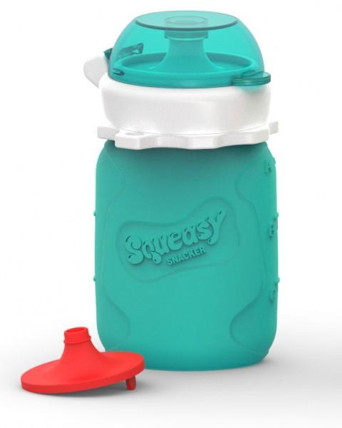 Squeasy Snacker Mini - Aqua - Baby Quetschies