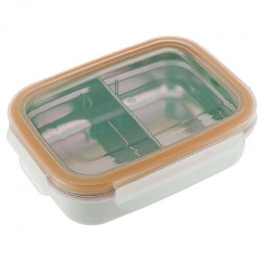 Kinder Bento Box aus Edelstahl, 2 Fächer - Innobaby