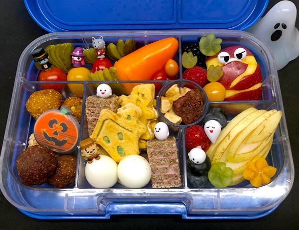 Mumien-Apfel, die gesunde Idee für Kinder Lunchbox