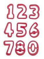 Zahlen Ausstecher, 9er Set - Städter