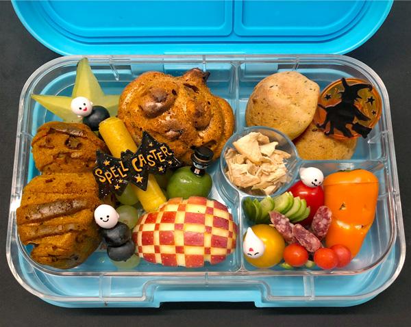 Bento Box Lunchbox Ideen zu Halloween
