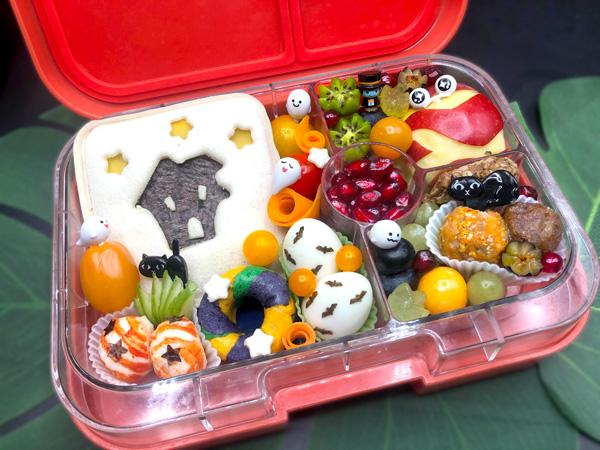 Brot in der Bento Box - Ideen zu Halloween