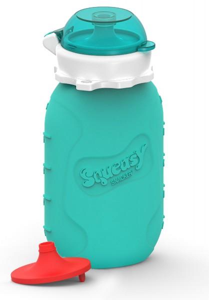 Squeasy Snacker - Quetschflasche, Trinkflasche - Aqua